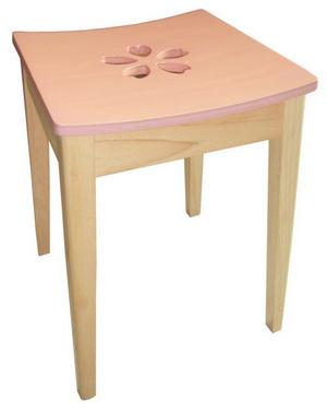 เก้าอี้สตูลไม้ยางพารา