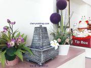 น้ำล้นน้ำผุดเสริมฮวงจุ้ยเรียกทรัพย์ดูดเงินเสริมดวงแต่งสวนแต่งบ้านด่านเกวียนโคราช