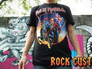 โปรโมชั่นพิเศษ เสื้อ Iron Maiden เสื้อวง ร็อค เสื้อยืด แขนสั้น แขนยาว กว่าพันแบบ ทุกไซ้ S M L XL และ
