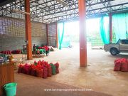 Warehouse with a house for rent in Khua mung Sraphi district