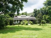 House is located in HangdongChiangmai on 12 rai of green secluded land with beautiful mountain view