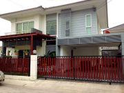 ขายบ้านเดี่ยวหมู่บ้านพฤกษานารา หนองมน ชลบุรีบ้าน 2ชั้น มี 3 ห้องนอน 2 ห้องน้ำ 2ห้องครัว 2ที่จอดรถ ขน