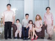 Moshi Family ชุดครอบครัว ชุดแม่ลูก ชุดออกงาน พร้อมส่งกว่า 200 Collecitons มีทุก Size ทุกธีมสี