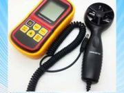 เครื่องวัดความเร็วลม ใบพัดแยก Digital Electronic Handheld Wind Speed Meter Anemometer