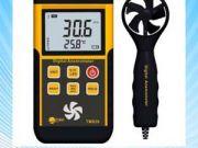 เครื่องวัดความเร็วลม ใบพัดแยก Split digital anemometer TM826 professional wind wheel air thermometer