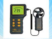 เครื่องวัดความเร็วลม ใบพัดแยก smart sensor Anemometer Wind Speed meter wind speed tester AR826