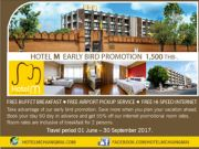 Early Bird Promotion 1500