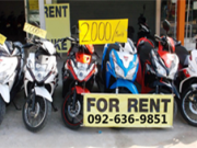 rent PCXrent motorbike เช่ามอไซค์