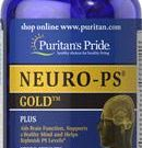 Puritan Pride Neuro-PS gold Phosphatidylserine 100 mg 90 Softgels อาหารเสริมบำรุงสมองระดับพรีเมี่ยม