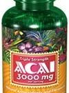 puritan ACAI 3000mg120rapid release liquid softgels อาไซอ ที่มีค่าสารต้านอนุมูลอิสระสูงที่สุดในโลก