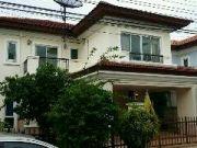 ขายบ้านเดี่ยว หมู่บ้านแกรนด์ คาแนล ประชาชื่น 649 ตรว บ้านสวยถูกที่สุดในโครงการ