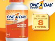 one a day women s formula 300 tablets วิตามินรวมสำหรับผู้หญิง ขายดีอันดับ 1