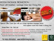 Room package with breakfastOasis Spa