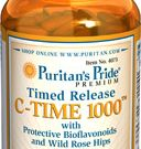 Puritan Vitamin C-1000 mg250Caplets วิตามินซีแบบสลายตัวช้า