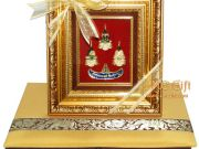ของขวัญปีใหม่ 2561 กรอบรูปพระแก้วมรกต หลวงปู่ทวด พระพุทธชินราช พร้อมกล่องผ้าไหม