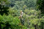 กิจกรรมผจญภัย Flying Hanaman โหนสลิง ท้าความกล้า