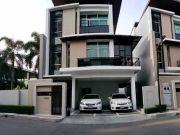 ขายบ้านเดี่ยว3ชั้น เนอวาน่า บียอนด์ พระราม 9 Nirvana Beyond Rama 9 ขนาด 42 ตรว บ้านตกแต่งสวยพร้อมอยู