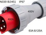 power plug HTN0351 DAKO