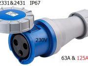 power plug HTN2331 DAKO