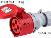 power plug HTN224 DAKO
