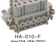 Heavy Duty Connector Han 3A HA-010-F-H10A