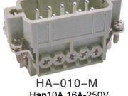 Heavy Duty Connector Han 3A HA-010-M-H10A