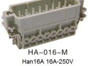 Heavy Duty Connector Han 3A HA-016-M-H16A