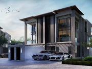ขายบ้าน The Wings นาคนิวาศ 18 Modern Luxury Home 3ชั้น โฮมออฟฟิศหรูสไตล์บ้านเดี่ยว