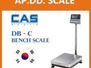 เครื่องชั่งตั้งพื้น 60-500kg ยี่ห้อ CAS DB-C แท่น50x60cm ราคาถูก