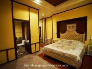 Brand new house for rent partly furnished 3 bedrooms near Kad farang hangdong
