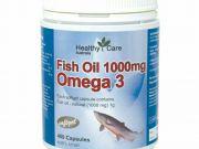 น้ำมันตับปลาHealthy Care OMEGA 3 1000 mgบำรุงสมองสายตาร่างกายแข็งแรง จากออสเตรเลีย