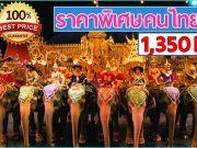ทัวร์ภูเก็ตแฟนตาซี โชว์สุดพิเศษ ราคาคนไทยสุดคุ้ม
