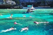ทัวร์เกาะพีพี เกาะไม้ไผ่ เรือใหญ่ ราคาสุดคุ้ม