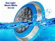 ขายโคมไฟสระว่ายน้ำ LED แบบแสง Daylight Warm white RGB