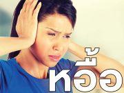 หูอื้อ,หูดับ,เสียงดังในหู,อาการหูอื้อ,หูอื้อ สาเหตุ