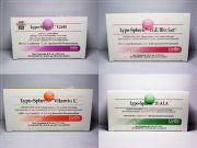 เซ็ตสุดคุ้ม กลูต้าเจล Lypo-GSHรกแกะ VIP Sheep Placenta 30000 mgN-Acetyl Cyteine 600 mgVitamin C with