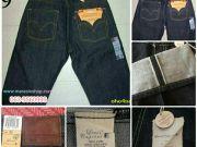 กางเกงยีนส์ลีวายส์ 501USAริมแดง ริมเขียวบลูยีนส์ รุ่นต่างๆ ของแท้นำเข้า