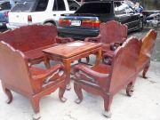 ขายโต๊ะไม้มะค่าแผ่นเดียว มือสองเจ้าของขายเอง ต้องการขายเพราะย้ายบ้าน
