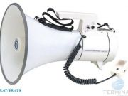 SHOW ER-67 W โทรโข่งแบบสพายไหล่ ปรับระดับสะพายได้ 35 W max Megaphone เม็กกาโฟน