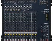 Yamaha Mixer MG166CX มิกเชอร์ 16 Input 8 Mono4 Stereo Stereo Out4 Group Out 2 Aux 16 Digital Effect