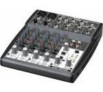 BEHRINGER XENYX 802 มิกเซอร์ Premium 8-Input 2-Bus Mixer with XENYX Mic Preamps and British EQs