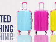 กระเป๋าเดินทางล้อลากแฟชั่น นำเข้า ราคาถูกกว่าห้าง มีระบบ TSA Lock