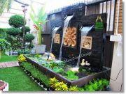 ปรับภูมิทัศน์บ้านและสวน รับจัดสวน ฮวงจุ้ยน้ำพุ ม่านน้ำตก ออกแบบ 3D ให้ดูฟรี