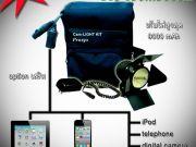 ชุดไฟวิดีโอ Video Camera Light Kit Pro150 5600K ไฟแรง ให้แสงสวย
