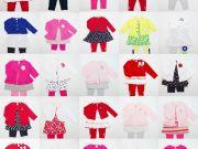ขายส่งเสื้อผ้าเด็ก-VIP3ชิ้น-Carters-Ashley-คละแบบคละSize3-9เดือน-เนื้อผ้านุ่มใส่สบายมากค่ะ