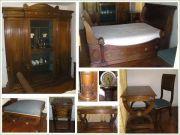 ชุดเฟอร์นิเจอร์ห้องนอนโบราณจากฝรั่งเศส Antiq French bedroom set