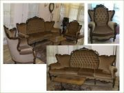ชุดโซฟารับแขกโบราณ Antique sofa set