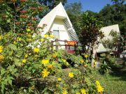 รีสอร์ท สวนแม่อูคอ ขุนยวม Inparadisum Resort บรรยากาศดี ธารน้ำตกไหลผ่าน ท่านจะได้สัมผัสกับเสียงของธร