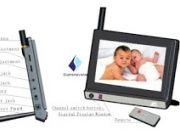 Baby monitor ราคาถูก 6900 บาท เป็น แบบ จอ LCD ขนาด 7 นิ้ว ภาพคมชัดไม่ให้ลูกน้อยคลาดสายตา