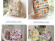 ขายกระเป๋าเป้ ลายการ์ตูนญี่ปุ่น เกาหลี น่ารัก ราคาถูก